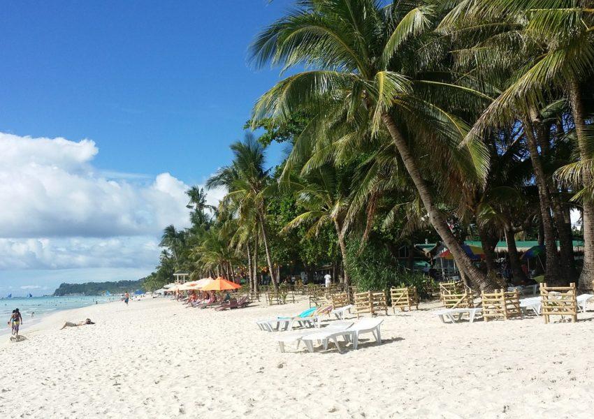 Une plage dans les Philippines