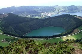 Le paysage d'Azores