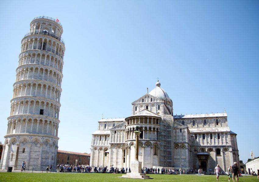 La fameuse tour de l'Italie