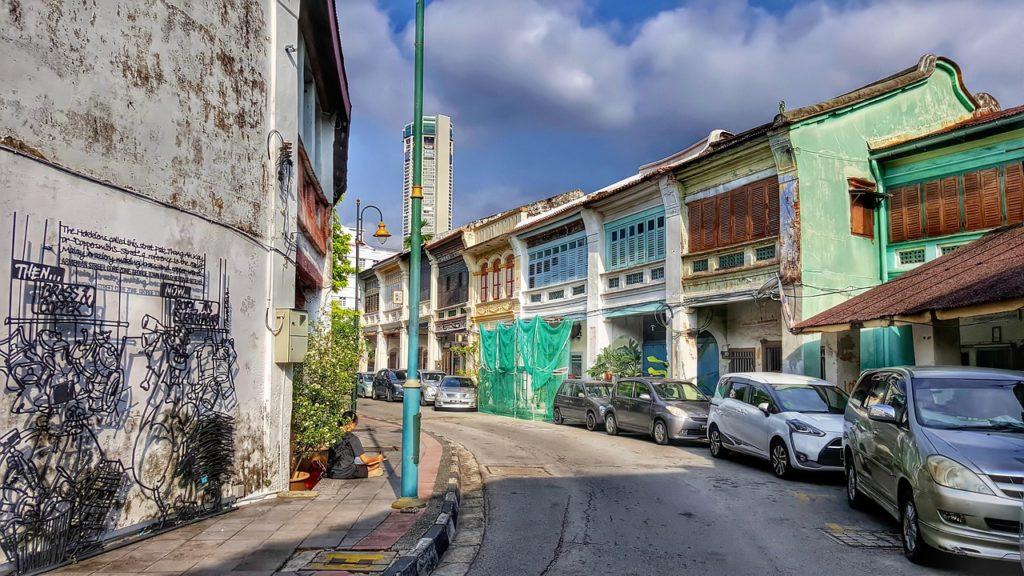 Penang, en Malaisie (Asie du Sud-Est)