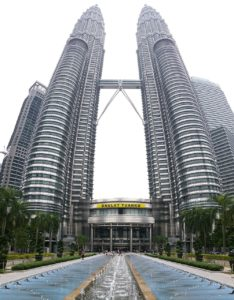 Kuala Lampur - Tours jumelles Petronas