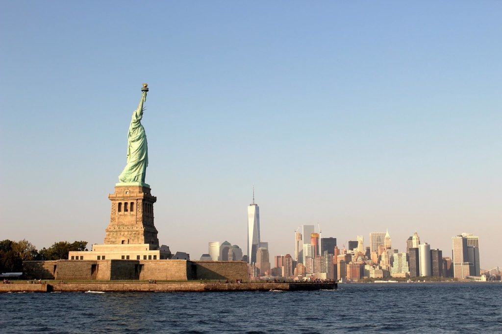 La célèbre ville de New York des États-Unis