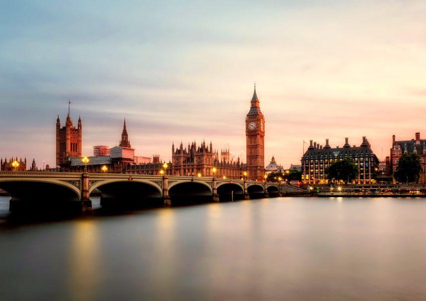 Une vue sur la magnifique ville de Londres