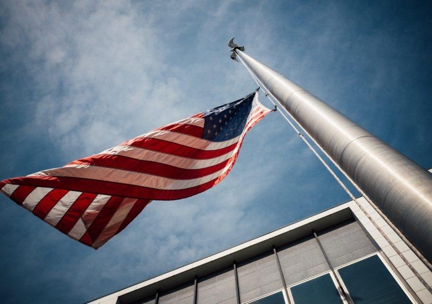 Le fameux drapeaux des États-Unis