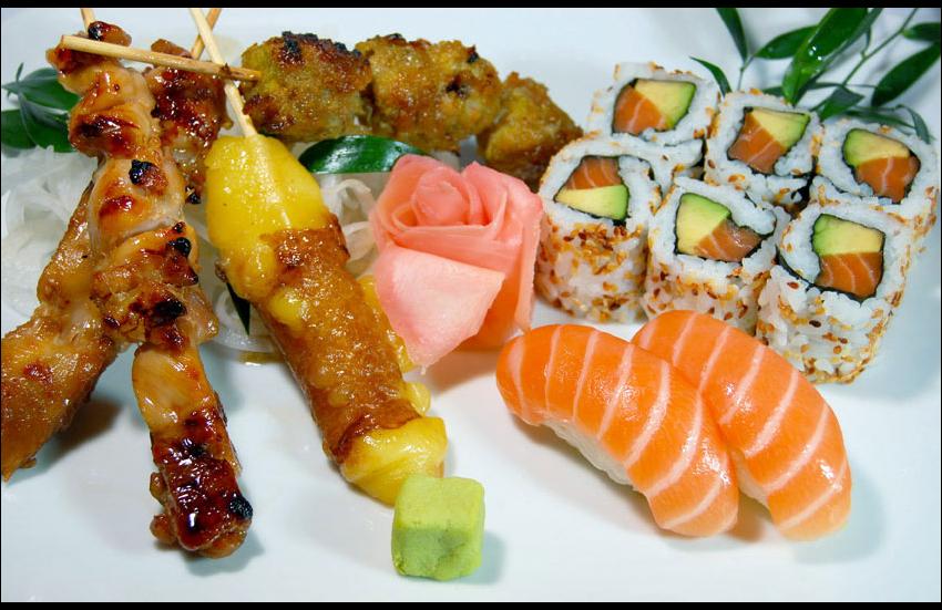spécialités culinaires du Japon.