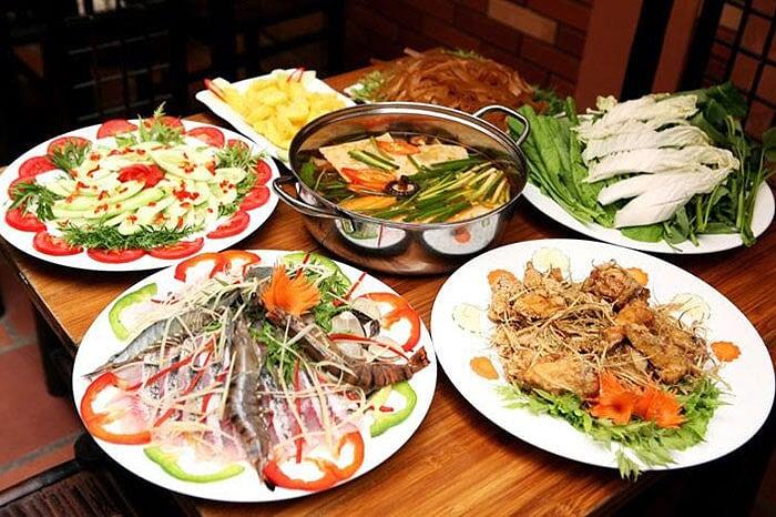 Les spécialités culinaires du Vietnam.